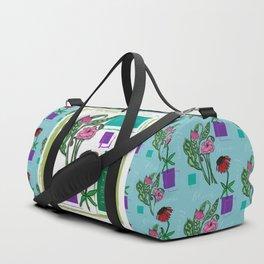 Flower Bloom Grow Duffle Bag