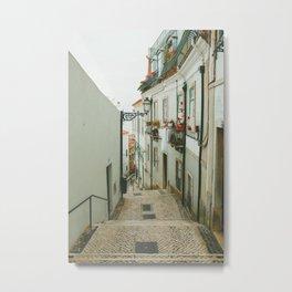 Lisboa Streets Metal Print