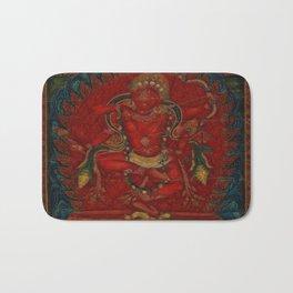 Kurukulla - Tibetan Buddhism Bath Mat