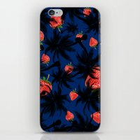 strawberry iPhone & iPod Skins featuring strawberry  by mark ashkenazi