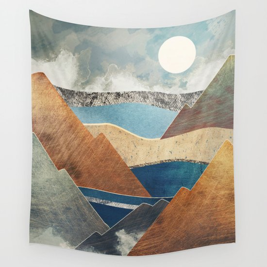 Mountain Pass Wall Tapestry