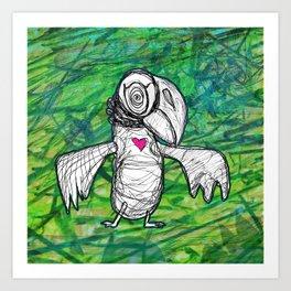 I'll Be A Hawk Someday Art Print