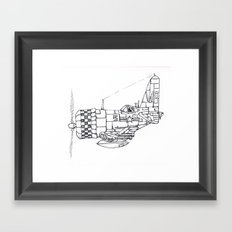 Flight Framed Art Print