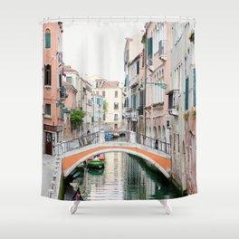 Venezia - Venice Italy Travel Photography Shower Curtain