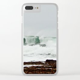 Rolling Thunder Clear iPhone Case