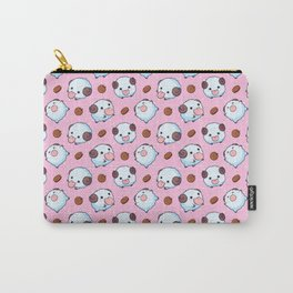 Pink Poros Carry-All Pouch