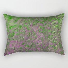 Green Purple Sand Rectangular Pillow