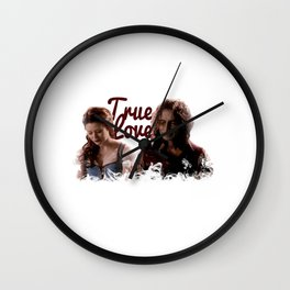 Rumbelle True Love Wall Clock