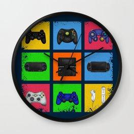 Gaming Generations 2 Wall Clock