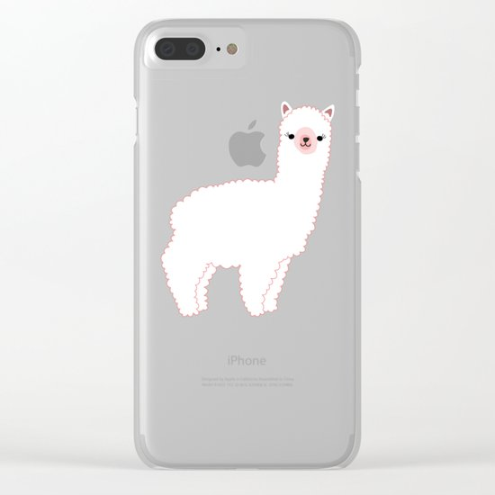 The Alpacas II Clear iPhone Case