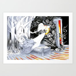 Night Terrors Art Print
