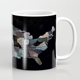 map usa Coffee Mug