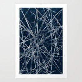 WINTER_GEO Art Print