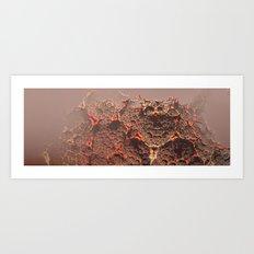 Clustering Colonies Zero Art Print