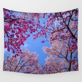 Cherry blossom explosion Wall Tapestry