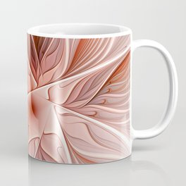 Flower Decoration, Abstract Fractal Art Coffee Mug