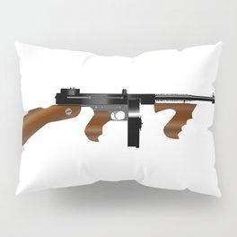 Tommy Gun Pillow Sham