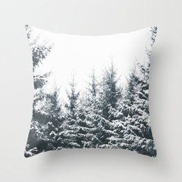 In Winter Throw Pillow
