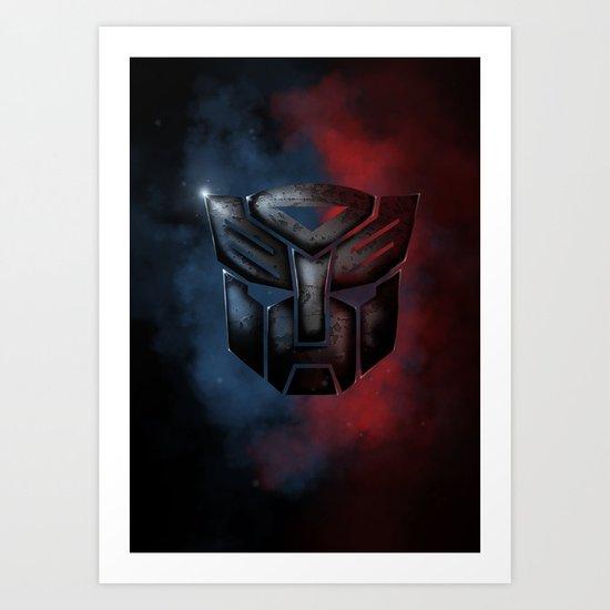 Autobot Art Print