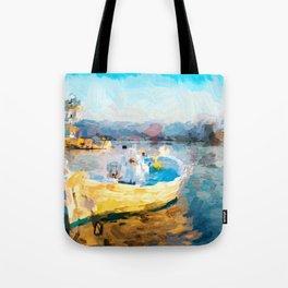Fischerboot Tote Bag