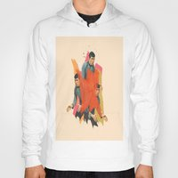 spock Hoodies featuring Spock by Iotara