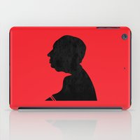 hitchcock iPad Cases featuring Hitchcock by Vincent Caduc
