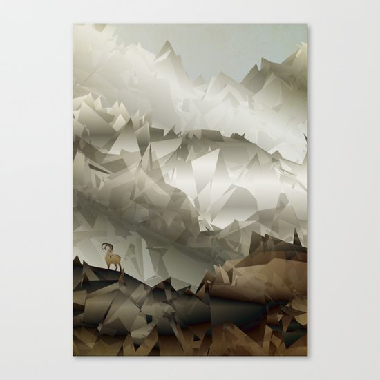 The Fortress Canvas Print