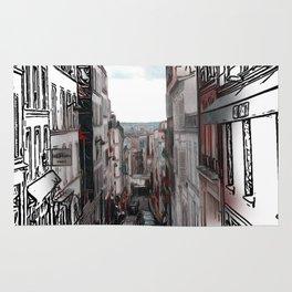 Patterns of Places - Paris Rug