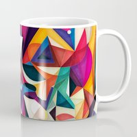 shipping Mugs featuring Emotion in Motion by Anai Greog