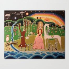 The secret tree Canvas Print