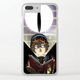 What Lurks in the Dark Clear iPhone Case