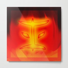 Ninjago Kai 2015 Metal Print