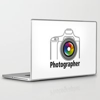 community Laptop & iPad Skins featuring Photographer Community by Jatmika jati