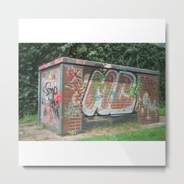 Power Box Metal Print
