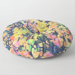 Abstract Fall 1479 Floor Pillow