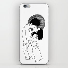 You & Me VII iPhone Skin