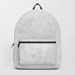 Beautiful White Print Design Pattern Backpack