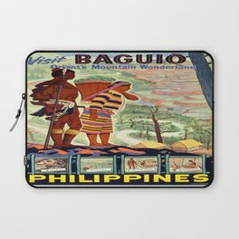 Vintage poster - Philippines Laptop Sleeve
