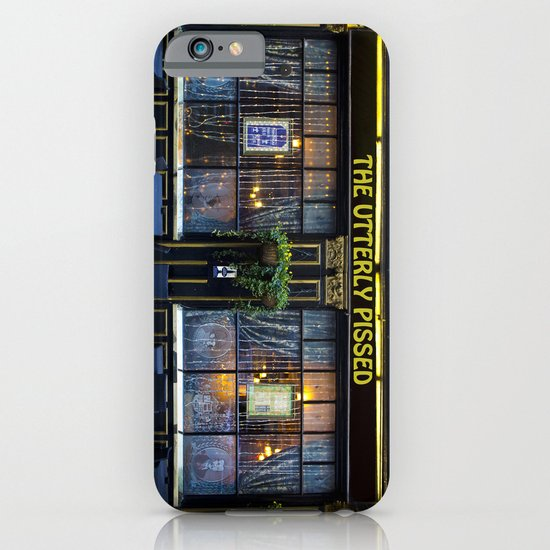 The Utterly Pissed Pub iPhone & iPod Case