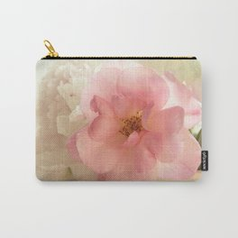 the pink rose Carry-All Pouch