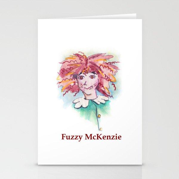 Fuzzy McKenzie Stationery Cards