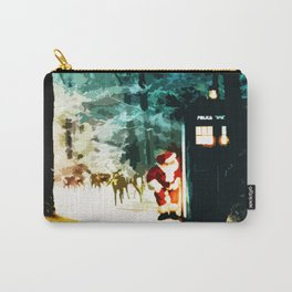 Keep Watching The Tardis Light Carry-All Pouch