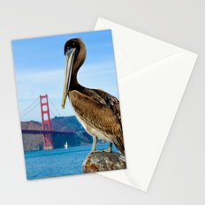 Pelican & Golden Gate Stationery Cards
