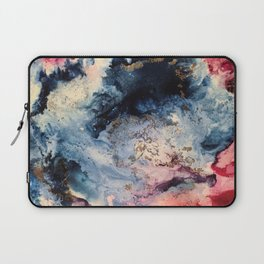 Rage - Alcohol Ink Painting Laptop Sleeve
