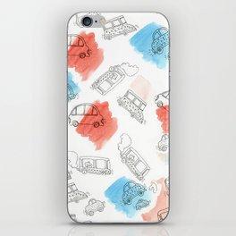 Cute Car Design iPhone Skin