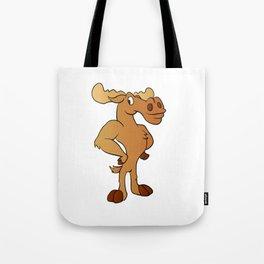 Funny moose Tote Bag