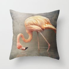 Walking in a dream.. Throw Pillow