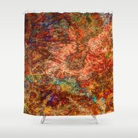 copper Shower Curtains featuring Copper Pot by Kent Moody