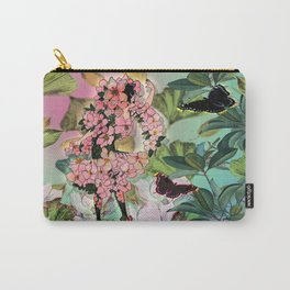 Vintage Flower Fairy Carry-All Pouch