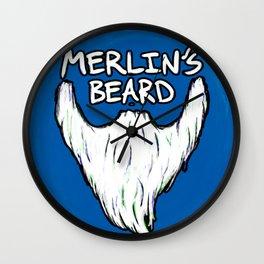 Merlin's Beard Wall Clock